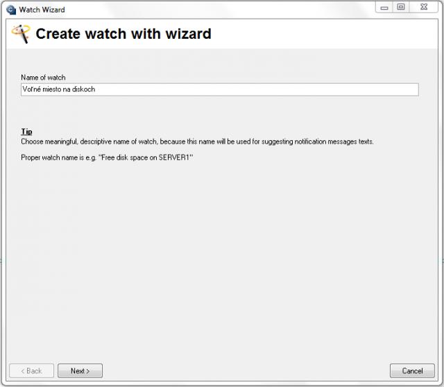 Spustenie Watch Wizarda