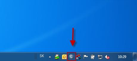 Easyclick vytvorenie novej požiadavky dvojklikom na ikonku C-Monitor klienta