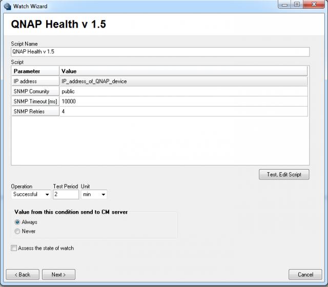 Nastavenie monitoringu pre QNAP