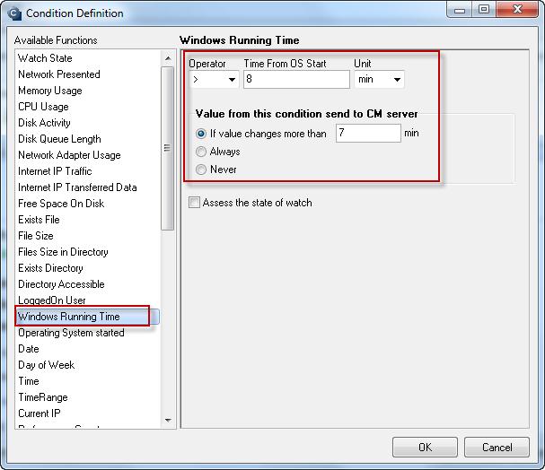 Obrázok: Windows running time