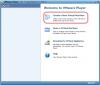 Vytvorenie novej VM cez VMware Player
